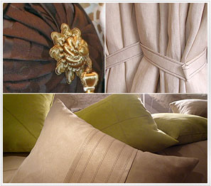 Cushions and Curtains for yachts and villas